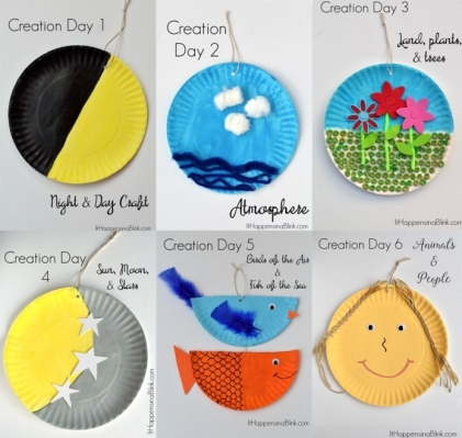 Bible Creation Story Craft Ideas
