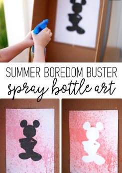 Spray Paint Fun for Kids