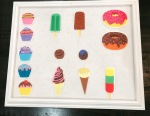 Ice cream felt