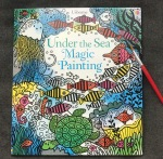 Magic coloring book usborne