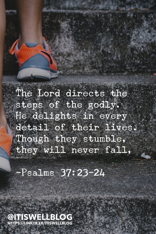 God directs our steps